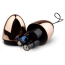 Виброяйцо Rosy Gold Nouveau Vibrating Egg, розовый - Фото №4