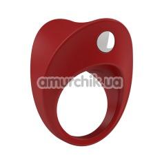 Виброкольцо OVO B11, красное - Фото №1