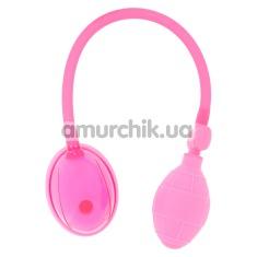 Вакуумная помпа для вагины Vagina Pump, розовая - Фото №1