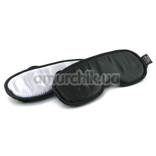 Набор из 2 масок Fifty Shades of Grey No Peeking Soft Twin Blindfold Set