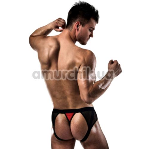 Мужские трусы-джоки Passion 007 Thong, черно-красные