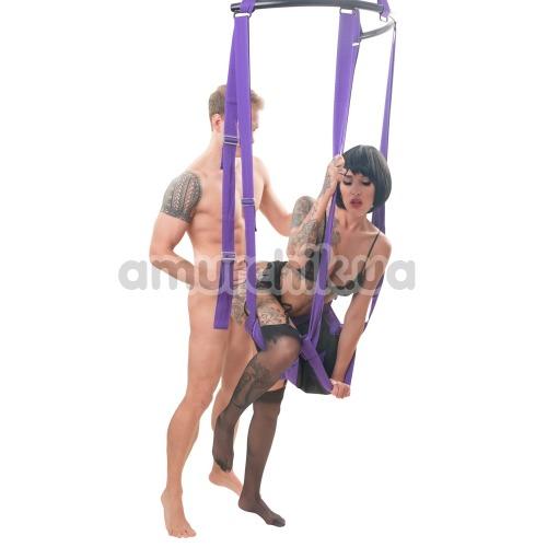 Секс-качели Fuck Swing, фиолетовые