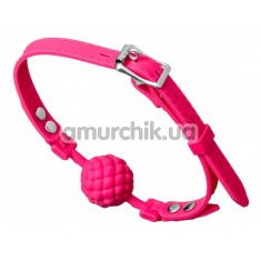 Кляп Loveshop Silicone Ball Gag, розовый - Фото №1