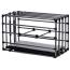 Клетка для наказаний Kennel Adjustable Cage With Padded Board, черная - Фото №3