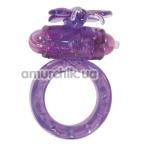 Виброкольцо Flutter Ring, фиолетовое - Фото №1