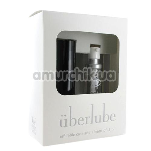 Лубрикант Uberlube 3-in-1 Good-to-Go Black на силиконовой основе, 15 мл