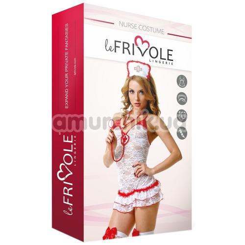 Костюм медсестры LeFrivole Nurse Costume (02893), белый
