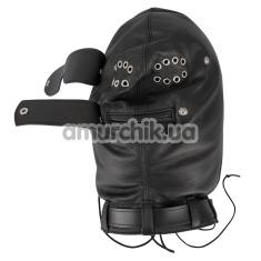Маска Zado Leather Isolation Mask, черная - Фото №1