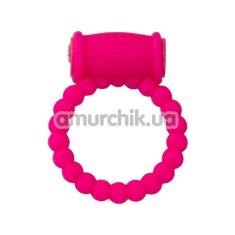 Виброкольцо А-Toys Cock Ring, розовое - Фото №1