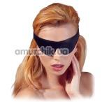 Маска Fetish Collection Devotion Augenmaske, черная - Фото №1