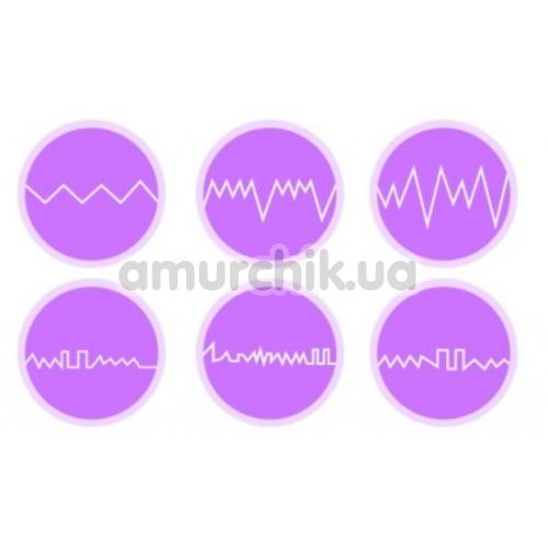 Виброяйцо с подогревом Zalo Temptation Pre-Heating Bullet Thruster, фиолетовое
