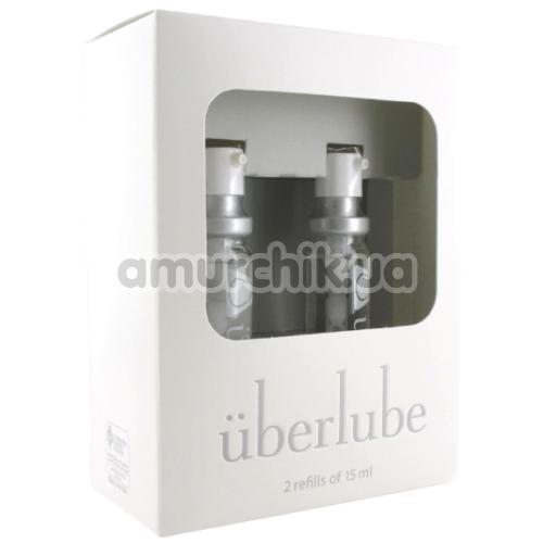 Набор лубрикантов Uberlube 3-in-1 Good-to-Go на силиконовой основе, 2 х 15 мл