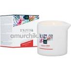Массажная свеча Exotiq Massage Vanilla Amber - ваниль и янтарь, 200 мл - Фото №1