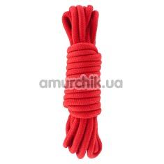 Веревка Hidden Desire Bondage Rope 5, красная