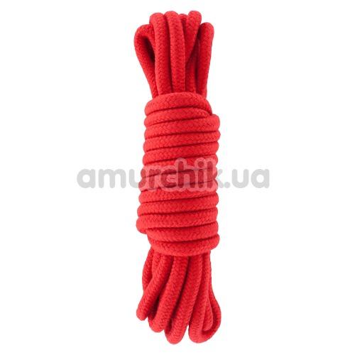 Веревка Hidden Desire Bondage Rope 5, красная - Фото №1