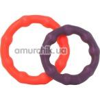 Набор из 2 эрекционных колец Climax Rings Cock Ring Duo - Фото №1