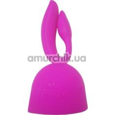 Насадка на универсальный массажер Lesparty Rabbit, розовая - Фото №1