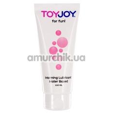 Лубрикант Toy Joy For Fun Warming Water Based Lubricant с согревающим эффектом, 100 мл