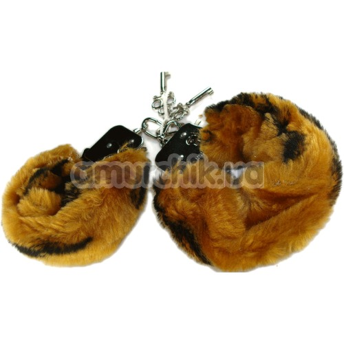 Наручники Love Cuffs тигровые - Фото №1