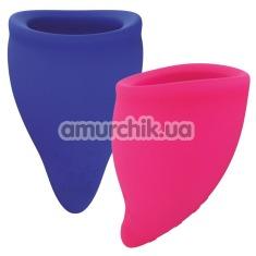 Набор менструальных чаш Fun Factory Fun Cup Explore Kit, 2 шт - Фото №1