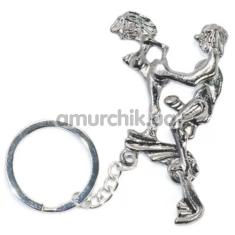 Брелок Funny Sexy Keychain, серебряный - Фото №1