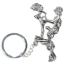 Брелок Funny Sexy Keychain, серебряный