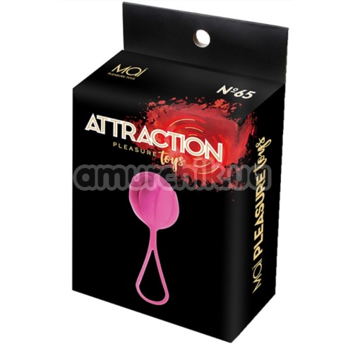 Вагинальный шарик Mai Attraction Pleasure Toys N65, розовый