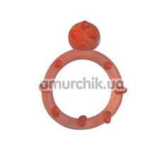 Эрекционное кольцо Grass&Co (модель 50011b), розовое - Фото №1