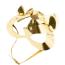 Маска Кошечки DS Fetish Leather Cat Mask, золотая - Фото №1