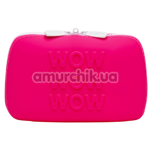 Сумочка для хранения секс-игрушек Happy Rabbit Storage Case Small, розовая - Фото №1