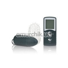 Виброяйцо 10 Function Remote Control Bullet, черное - Фото №1