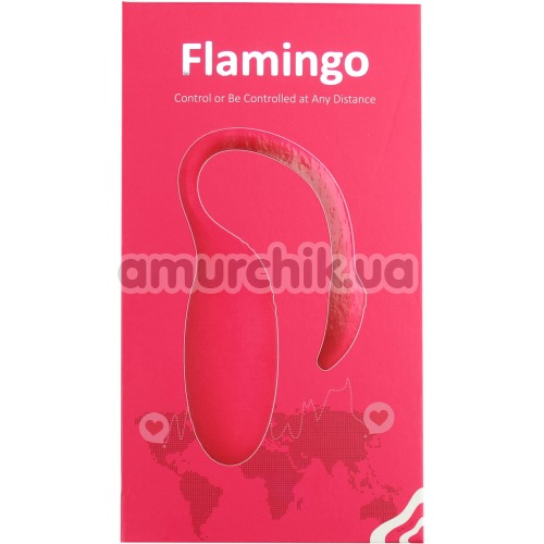 Вибратор Magic Motion Flamingo, розовый