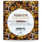 Массажное масло Exsens Tiger Eye Macadamia - тигровый глаз и макадамия, 3 мл - Фото №1