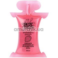 Оральный лубрикант Sex Tarts Strawberry Punch - клубника, 6 мл - Фото №1