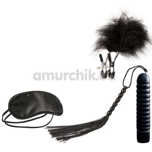 Набор из 4 предметов Guilty Pleasure Vibrator Gift Set, чёрный