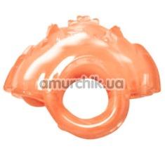 Вибронапалечник для стимуляции клитора G.high Mini Vibrating Fingertip персиковый - Фото №1