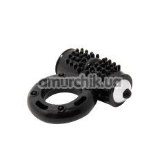 Виброкольцо Cock Ring 10-function, черное