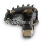 Виброкольцо Brazzers RE013, серое - Фото №1