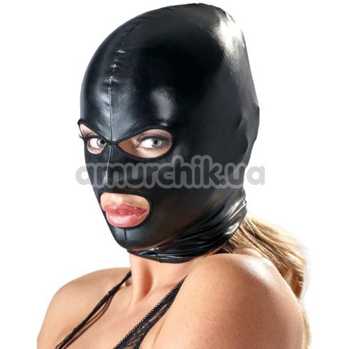Маска Bad Kitty Naughty Toys Hood Eyes Mouth Mask, черная