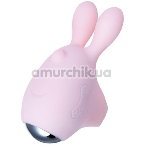 Вибронасадка на палец JOS Dutty, розовая  - Фото №1