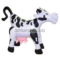 Надувная корова со звуковым сопровождением Inflatable Cow With Sound - Фото №1