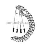 Зажимы для сосков Guilty Pleasure Nipple Tweezers, серебряные - Фото №1