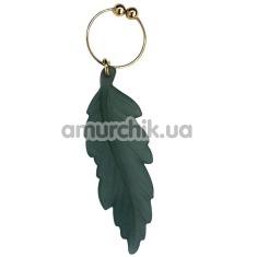 Украшение для пупка Navel Noveltic Ring with Green Leaf - Фото №1