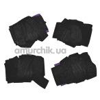 Фиксаторы для рук и ног Bad Kitty Hand and Ancle Cuffs, черный - Фото №1