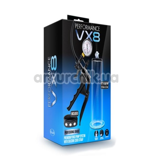 Вакуумная помпа Performance VX8, прозрачная