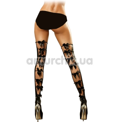 Чулки Lolitta Bows Stockings, черные