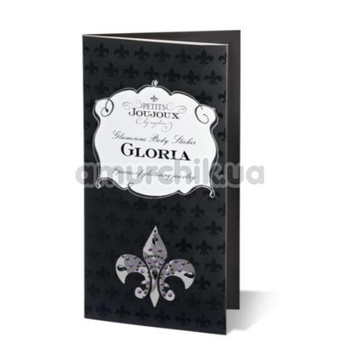 Украшения для сосков и пупка Petits Joujoux Gloria, черные