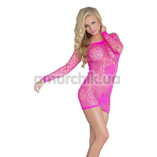 Платье-сетка Sweetheart, розовое - Фото №1