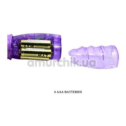 Вибратор с ротацией Travel Partner BW-020012, фиолетовый