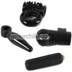 Набор из 4 игрушек Pornhub Dirty Weekend Kit, черный - Фото №1